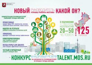 В Москве стартовал открытый конкурс в резерв на позиции глав управ и их заместителей